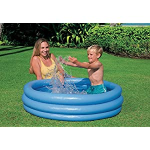Intex- Blu Piscina Crystal, Colore, 114x25 cm, 59416