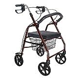 Chi Cheng Fang Electronic business carrelli aluminum Belt Wheel Seat/Walker multi-funzione auto acquistare cibo per aiutare gli anziani carrello