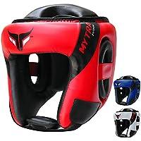 Mytra Fusion AD Head Guard Boxing Headgear MMA Headguard Martialarts Headgear for Protection & Traing (Red Black, S/M)