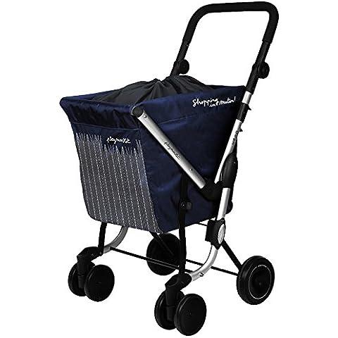 Playmarket We Go - Carro de compra, color azul