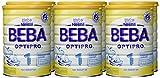 Beba Optipro 1 Anfangsmilch – von Geburt an, 6er Pack (6 x 800 g) - 2