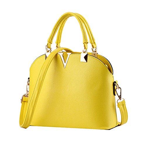 Borse Di Modo Marea Yy.f Guscio Sacchetto Sacchetto Diagonale Tracolla Estrinseca Modo Intrinseca E Pratico. Multicolore Yellow