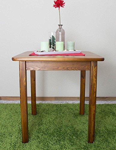 Esszimmertisch Esstisch 70x70 cm, Farbe: Eiche