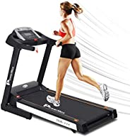 PowerMax Fitness® (2.0HP) Motorized Foldable, Electric Treadmill (Free Installation)【LED Display | BMI | Sprin