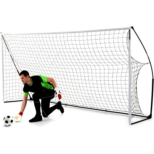 QUICKPLAY Kickster Academy Tragbares 2,4 x 1,5m Fußballtor - 5