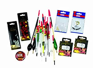 Zebco Float Set - Red / Yellow / White, 50 G