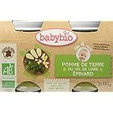 Babybio Pots Pomme de Terre du Val de Loire Epinard 260 g -