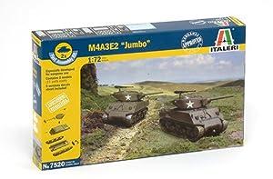 Italeri 7520S M4A3 E2 Jumbo - Maqueta de Tanque (Escala 1:72)
