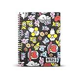 BT21 -Cuaderno Papel Cuadriculado DIN A5