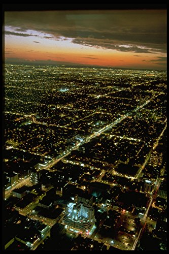 462073 View From CN Tower A4 Photo Poster Print 10x8