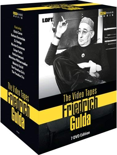 Friedrich Gulda - The Video Tapes - 7-DVD Box Set ( ) (Jazz-dvd-set)