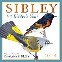 Sibley: The Birder's Year 2014 Wall (calendar) by David Allen Sibley (2013-07-25)