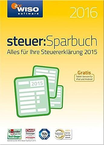 WISO steuer:Sparbuch 2016 (für Steuerjahr 2015)