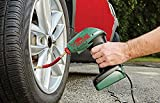 #4: Ad Fresh Portable Electric Mini 12V Air Compressor With Built-In LED Light Pump Car Tyre Tire Inflator