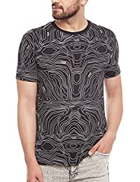 FUGAZEE Topograpgy Short-Sleeves T-Shirt