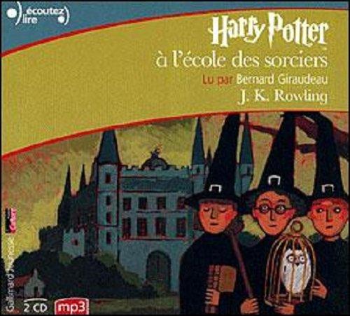 Harry Potter a l'ecole des sorciers - CD MP3