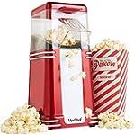 VonShef Retro Vintage Hot Air Popcorn Maker