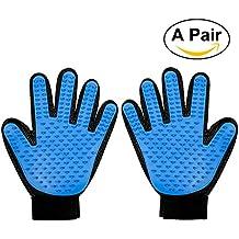 Foonii 2pcs Pet Glove Guanto Spazzola del guanto di massaggio