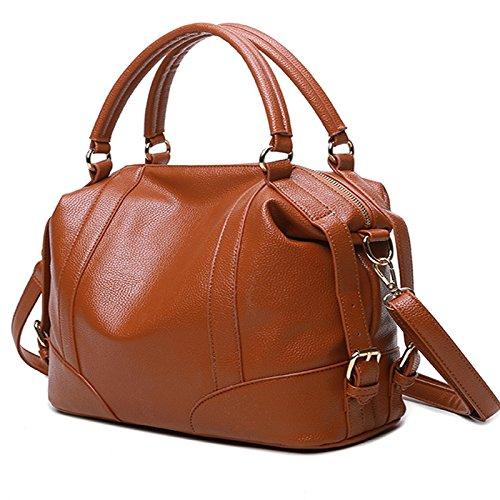Mefly La Nuova Moda Borsa Per Portatile Claret brown