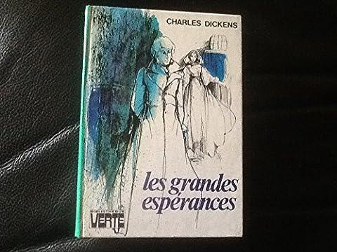les grandes espérances charles dickens , bibliothèque verte , 1975,