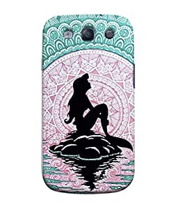 Fuson Designer Back Case Cover for Samsung Galaxy S3 Neo I9300I :: Samsung I9300I Galaxy S3 Neo :: Samsung Galaxy S Iii Neo+ I9300I :: Samsung Galaxy S3 Neo Plus (Pink Black Mermaid Ocean Sea)