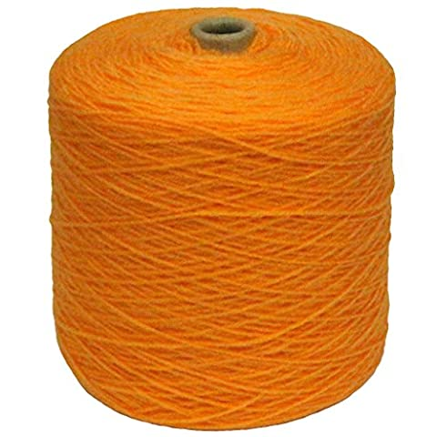 Marriner 4ply Cone 500G | 100% Acrylic | Suitable for Machine & Hand Knitting (Marigold)