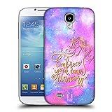 Head Case Designs Abbracciare Unicorni E Galassia Cover Retro Rigida per Samsung Galaxy S4 I9500