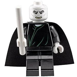 LEGO Harry Potter: Lord Voldemort Minifigura Con Bianco Bacchetta Magica 0700461082118 LEGO