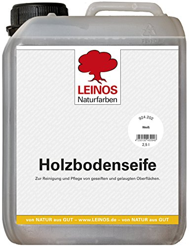 Leinos 924 Holzbodenseife 2,50 l Weià -