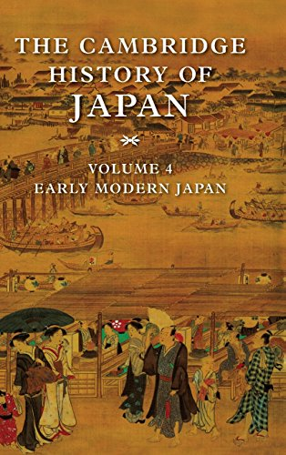 The Cambridge History of Japan: Volume 4