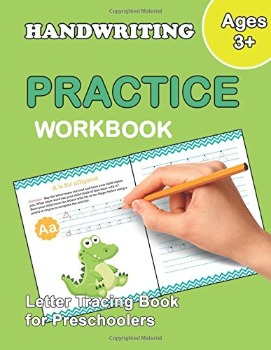 Letter Tracing Book for Preschoolers: Number and Alphabet Tracing Book, Practice For Kids, Ages 3-5, Number Writing Practice, Alphabet Writing Practice: Volume 1 (Preschool Workbooks) por Plant Publishing