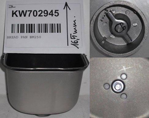 KENWOOD BM250/256 CESTELLO PANE TIPO PRE-TWIST&LOCK