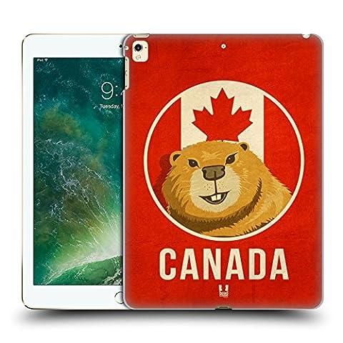 Head Case Designs Canada Animaux Patriotiques Étui Coque D'Arrière Rigide Pour Apple iPad Pro 12.9 (2016/17)