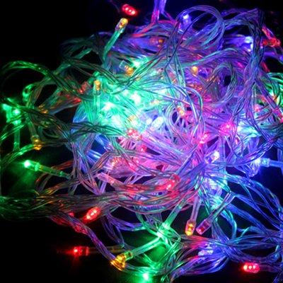 Salcar® Bunte Lichterkette 10m 100-flammige LEDs fuer Weihnachten Party Xmas RGB von Salcar bei Lampenhans.de