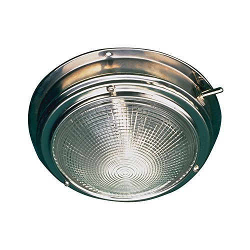 Sea Dog 400200-1Stainless Steel Dome Light with 5-inch Lens by Northern Wholesale Supply, Inc ('Der) Dome Light Lens