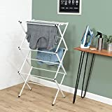 Classy 'N' Cozy Foldable Steel Cloth Dryer Stand Double Rack Cloth Stands for Drying Clothes Steel Hi Quality Foldable Cloth Dryer/Clothes Drying Stand