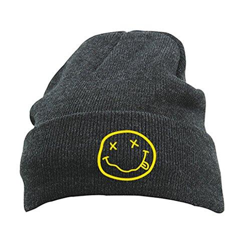 TRVPPY Damen Strickmütze Mütze Beanie mit Thinsulate, Modell Nirvana Kurt Cobain,...