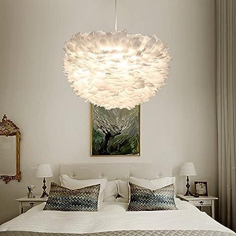 Personalità creativa con lampadario di nido di uccello di lampada salotto camera da letto sala da pranzo nel nord Europa caldo bianco luce 60 * 35cm
