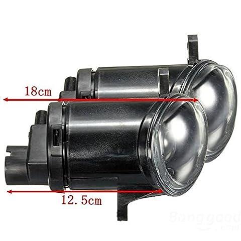 mark8shop Paar Front Bumper Nebel Licht fahren Lampe für VW Passat 3BG B500–05