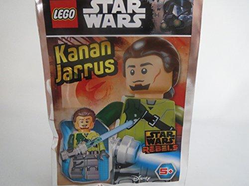 Blue Ocean Lego Star Wars Figur Kanan Jarrus mit blauem Laserschwert - Limited Edition - 911719 - Polybag - (Star Lego Kanan Wars)