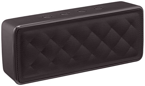 AmazonBasics - Altavoz portátil Bluetooth, color negro