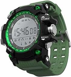 LEOTEC Green Mountain Reloj Inteligente Negro, Verde LCD 2 ...