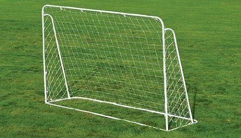 Charles Bentley 7Ft X 5Ft Children's Kids Metal Football Hockey Goal Posts Net