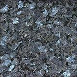 10,2x 5,1cm Blue Pearl von Norwegen Farbe Probe natürlichen Granit. Für Granit Küche oder Badezimmer Arbeitsplatten oder Fliesen.
