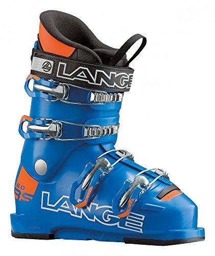 Lange RSJ 60 Kinder-Skischuhe LBF5140 Blue/Orange Gr. 22.5