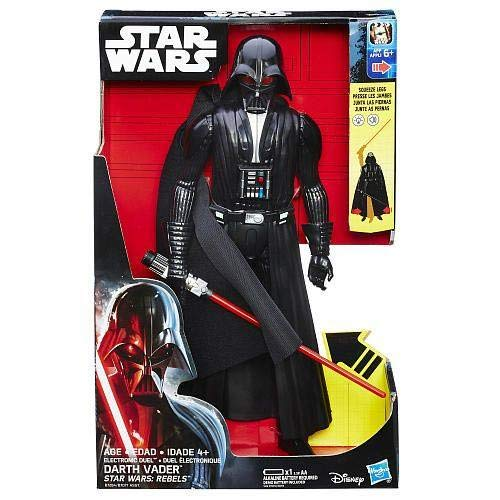 Star Wars - Figura electrónica Darth Vader, 30cm (Hasbro B7077) [Modelo surtido]