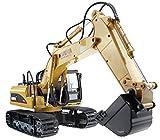 lemogo huina Legierung 15Kanal 2,4G Vollem Funktionsumfang Fernbedienung RC Bagger Full Funktion Crawler Traktor Konstruktion Fahrzeug Spielzeug