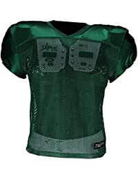 Active Athletics American Football Entrenamiento Camiseta, Color Verde, tamaño Large/Extra-Large