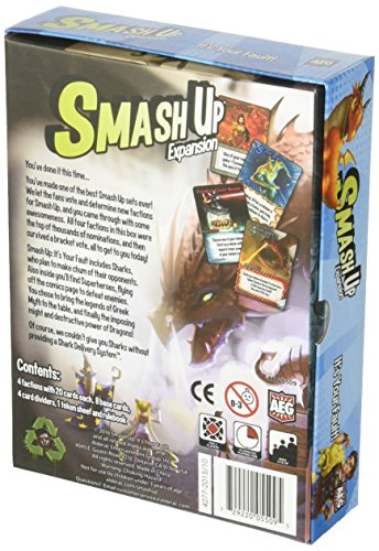 Alderac-Entertainment-ALD05509-Brettspiel-Smash-Up-Its-Your-Fault