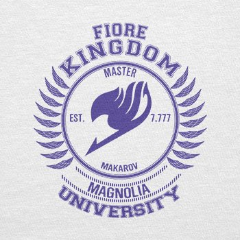 TEXLAB - Fiore Kingdom - Herren Langarm T-Shirt Weiß